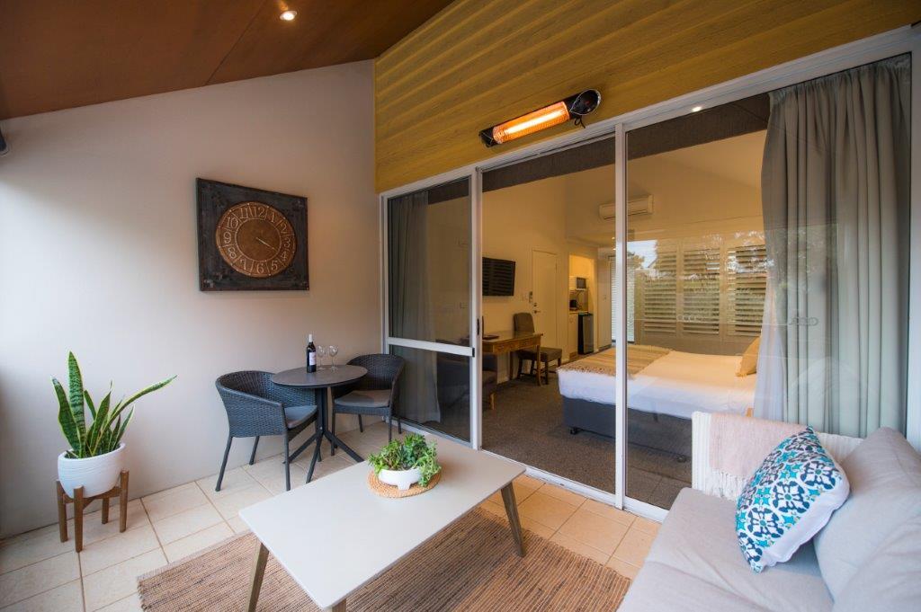Balcony King Spa Room